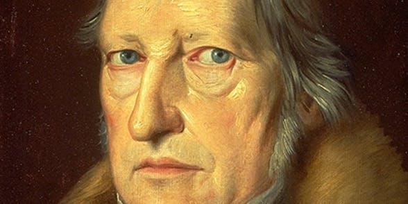 پرتره هگل، اثر یاکوب شلِزینگر (۱۸۳۱)، موزه دولتی برلین. public domain − بخشی از تصویر